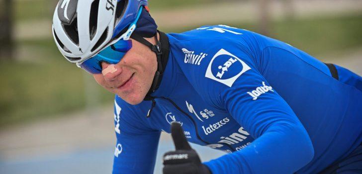 """Fabio Jakobsen na rentree: """"Dat ik de finish heb gehaald, maakt mij trots"""""""