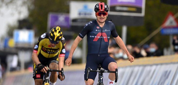 Tom Pidcock klopt Van Aert en Trentin in De Brabantse Pijl