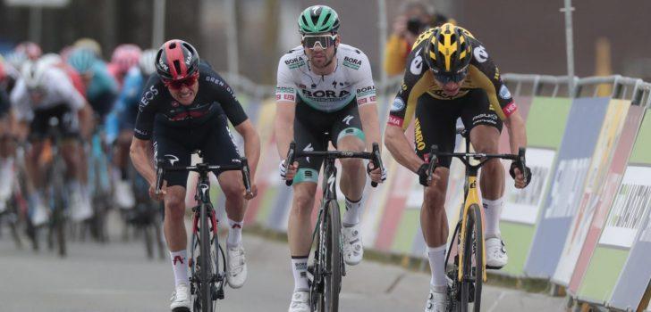 Wout van Aert is met nipt verschil de beste in de Amstel Gold Race