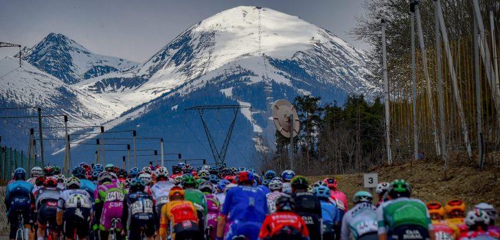 Volg hier de tweede etappe van de Tour of the Alps 2021