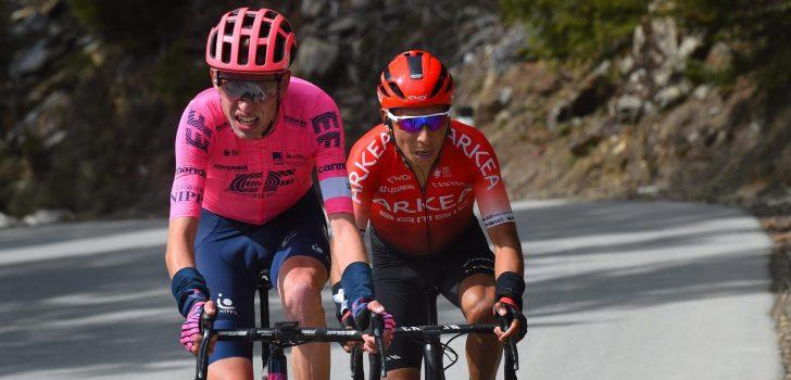 Giro 2021: Jens Keukeleire als helper van Hugh Carthy naar Italië