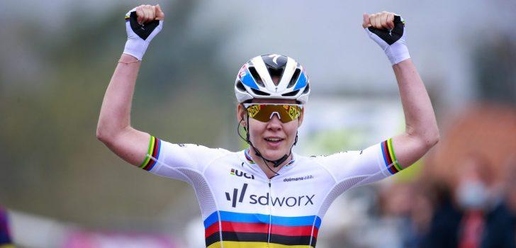 Anna van der Breggen wint zevende achtereenvolgende Waalse Pijl
