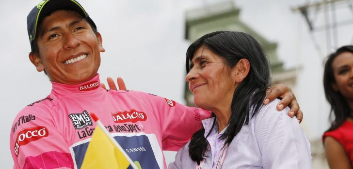 Arkéa-Samsic en kopman Nairo Quintana denken weer aan Giro d'Italia