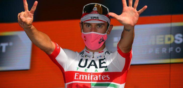 Giro 2021: Gaviria, Ulissi en Formolo speerpunten UAE Emirates