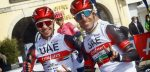 UAE Emirates en Alé BTC Ljubljana slaan handen ineen