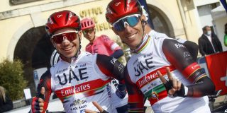 Rui Costa kopman bij UAE Emirates in de Algarve