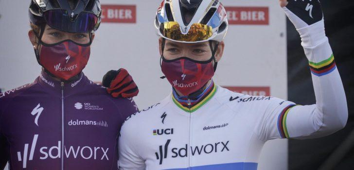 Amstel Gold Race-actie SD Worx levert 13.050 euro op, Labous namens Frankrijk naar Spelen