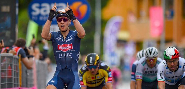 Giro 2021: Tim Merlier sprint naar winst in Novara, Dylan Groenewegen wordt vierde