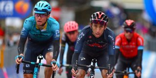 Giro 2021: Dit zijn de verschillen tussen de favorieten na de zware Sestola-rit