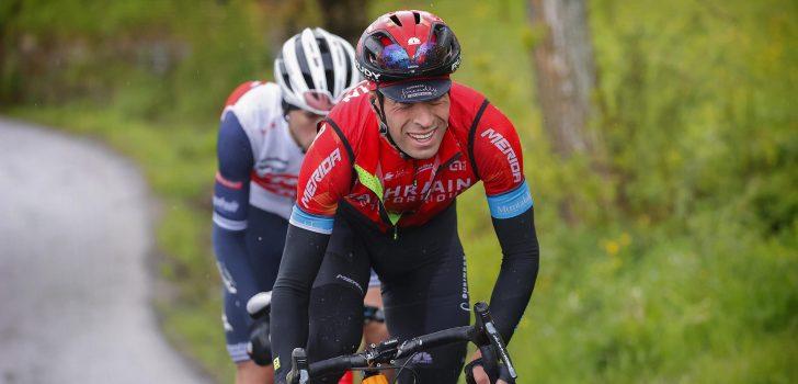 Mikel Landa maakt zijn comeback na harde val in Giro d'Italia