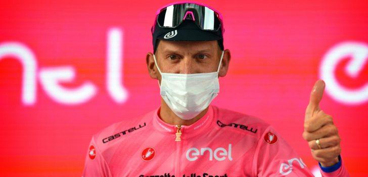 Giro 2021: Gehele peloton test negatief op coronavirus voor aanvang vierde etappe
