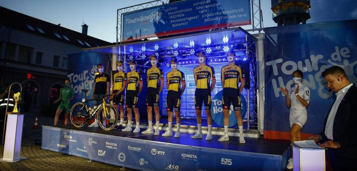 Volg hier de openingsetappe van de Ronde van Hongarije 2021