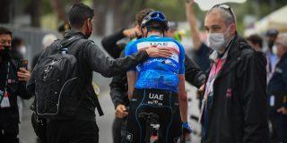 Giro 2021: Geen breuken voor Dombrowski, mogelijk wel hersenschudding