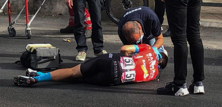 Giro 2021: Sleutelbeenbreuk en gebroken ribben voor Mikel Landa