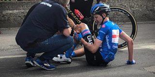 Giro 2021: Ritwinnaar Joe Dombrowski moet opgeven