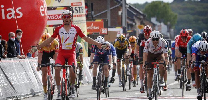 Christophe Laporte triomfeert in Circuit de Wallonie