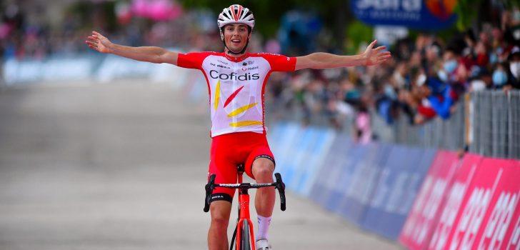 Giro 2021: Victor Lafay boekt eerste profzege, Kobe Goossens zesde