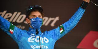 """Maak kennis met Zoncolan-ritwinnaar Lorenzo Fortunato: """"Dromen van Il Lombardia"""""""