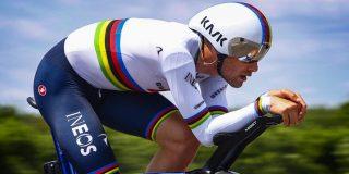 "Filippo Ganna wint tijdrit ondanks fietswissel: ""Dat ging als in de Formule 1"""