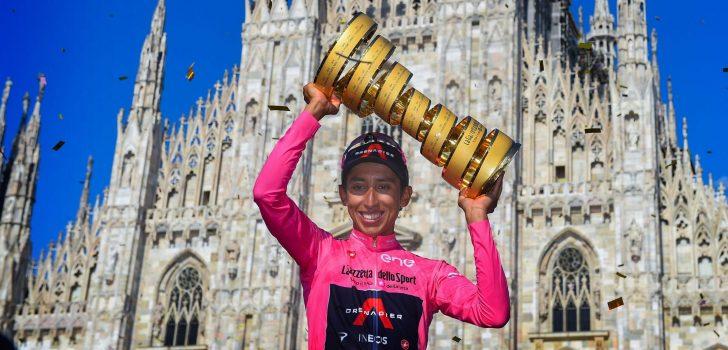 "Egan Bernal eindwinnaar Giro d'Italia 2021: ""Dit is heel erg speciaal"""