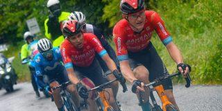 Giro 2021: Matej Mohoric afgevoerd naar ziekenhuis na akelige val