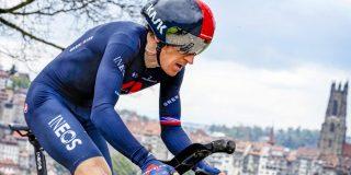 Geraint Thomas eindwinnaar Ronde van Romandië, slottijdrit is voor Cavagna