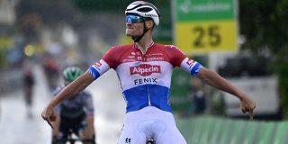 Mathieu van der Poel schiet raak in Ronde van Zwitserland
