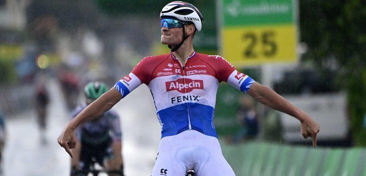 Volg hier de tweede rit in lijn van de Ronde van Zwitserland 2021