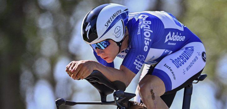 Remco Evenepoel wint met klein verschil tijdrit in Baloise Belgium Tour