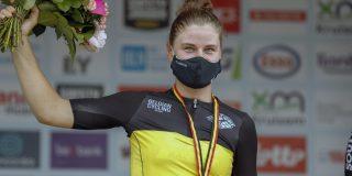 """Lotte Kopecky na nieuwe Belgische titel: """"Voelde me absoluut niet goed"""""""