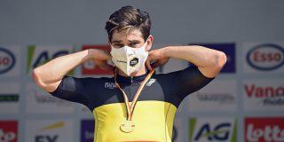 Wout van Aert rijdt Ronde van Frankrijk met aangepaste versie kampioenstrui