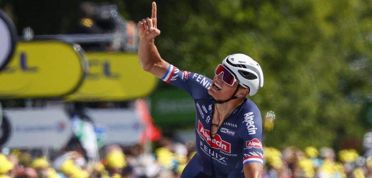 Mathieu van der Poel en Tom Dumoulin van start in Benelux Tour