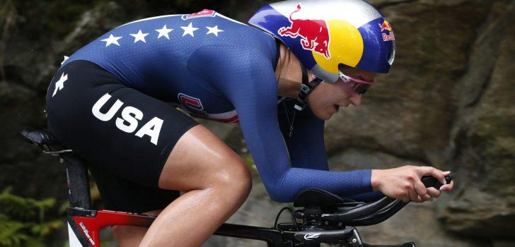 Chloé Dygert mist WK wielrennen en WK baanwielrennen