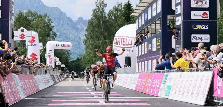 Yannis Voisard blijft leider Juan Ayuso voor in laatste bergrit Giro U23