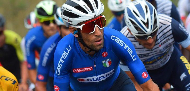 Nibali met Italiaanse ploeg naar Olympische Spelen in Tokio