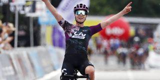 BK wielrennen: Lotte Kopecky volgt zichzelf op als kampioene