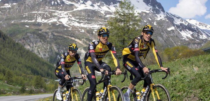Exclusief: Met Tour-ploeg Jumbo-Visma op pad in Tignes