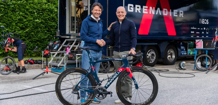 INEOS Grenadiers koerst ook komende jaren op fietsen van Pinarello