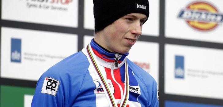 Tomas Kopecky rijdt Nys uit gele trui in Ronde van Vlaams-Brabant