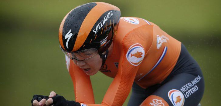 Anna van der Breggen zegt ook af voor het WK Mixed Relay