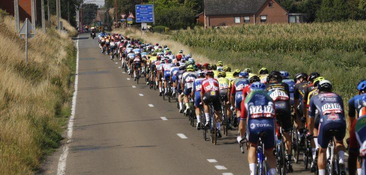 Tweede etappe Tour de Wallonie afgelast