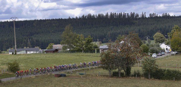 Tweede rit Tour de Wallonie gaat toch door op Circuit Zolder
