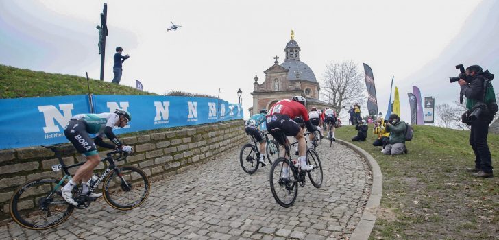 Brussels Cycling Classic twee keer over Muur van Geraardsbergen en Bosberg