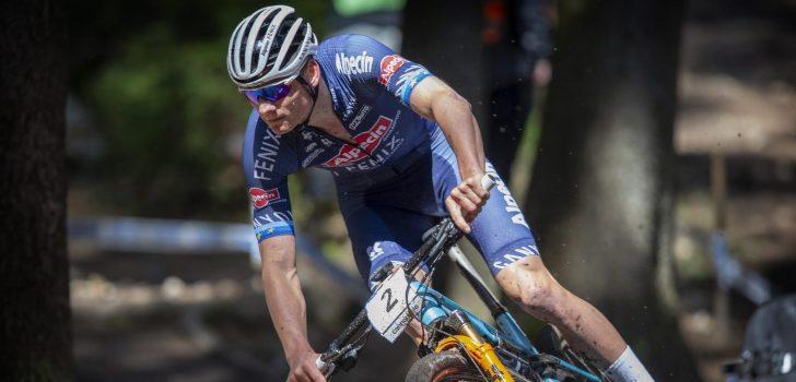 Mathieu van der Poel gaat via WK mountainbike naar WK op de weg