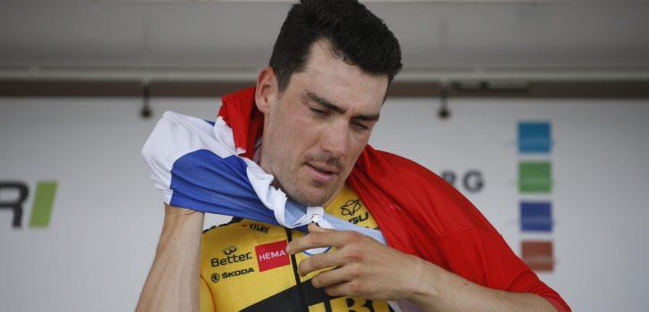 Tour de Wallonie eerste koers voor Timo Roosen in rood-wit-blauwe trui