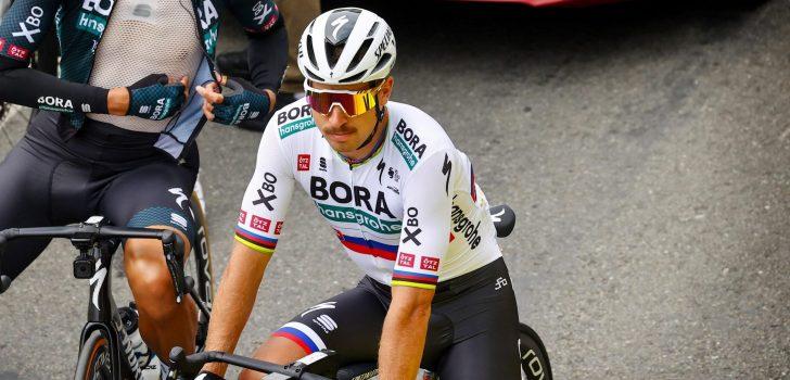 Tour 2021: Peter Sagan nog niet verlost van knieproblemen