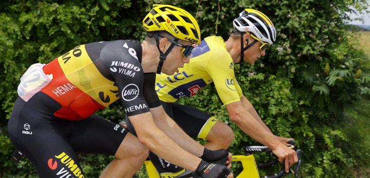 """Wout van Aert maakt """"oorlog"""" in de Tour: """"Mooie koers laten zien"""""""