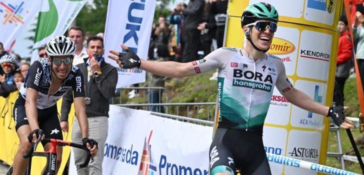 Aleotti verslaat Aru in bergetappe Sibiu Cycling Tour