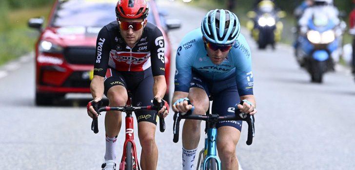Tour 2021: Ook Tosh Van der Sande en Miles Scotson staken de strijd