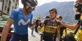 """Alejandro Valverde: """"Ik wilde vandaag winnen, maar vooral niet vallen"""""""